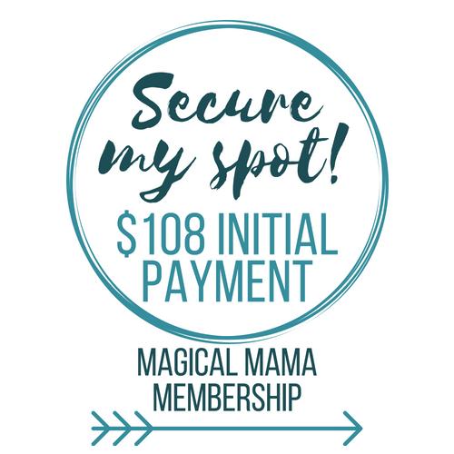 Magical Mama Membership Button